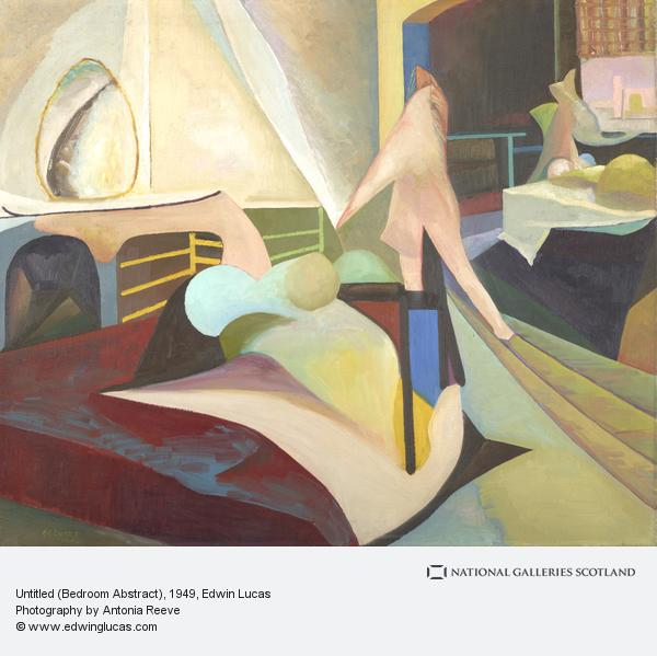 Edwin G. Lucas, Untitled (Bedroom Abstract)