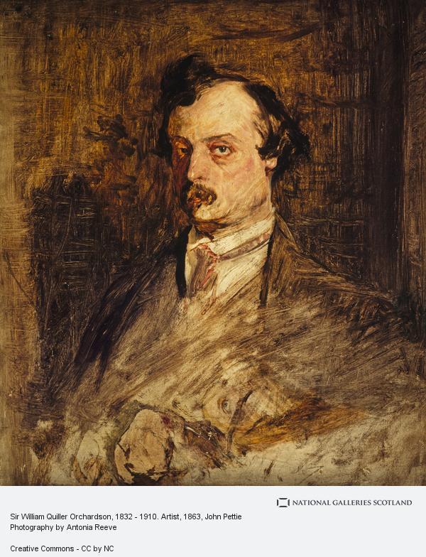 John Pettie, Sir William Quiller Orchardson, 1832 - 1910. Artist