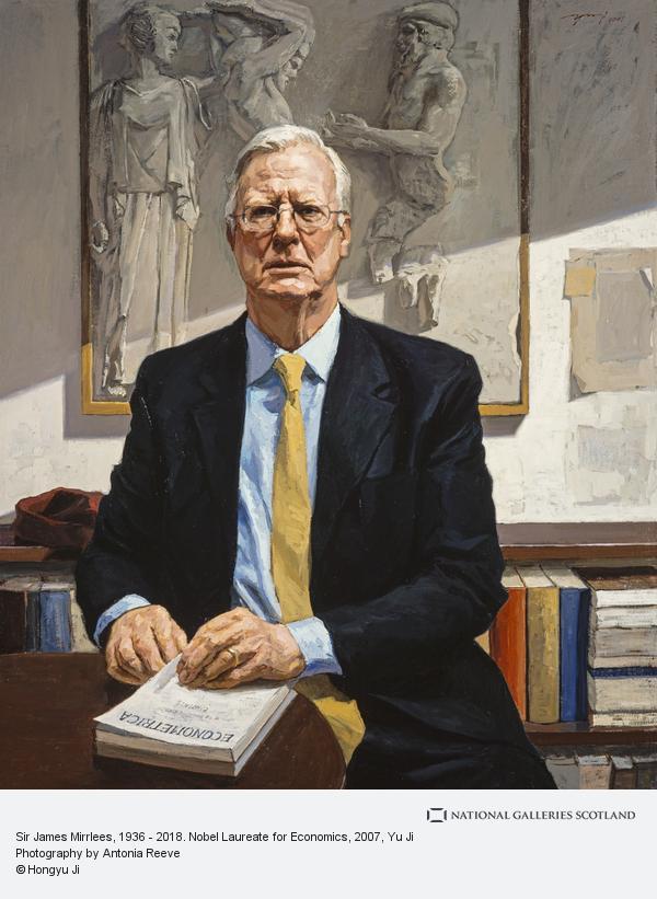 Yu Ji, Sir James Mirrlees, 1936 - 2018. Nobel Laureate for Economics
