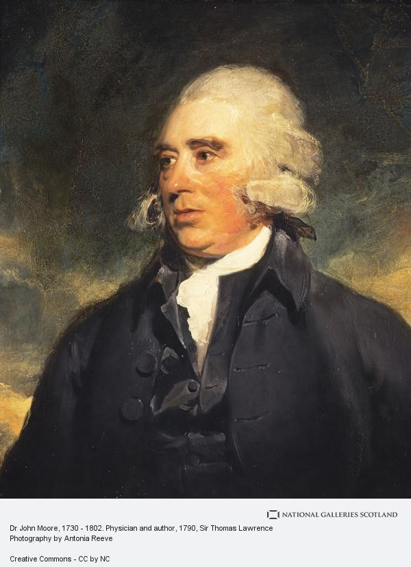 Sir Thomas Lawrence, Dr John Moore, 1730 - 1802. Physician and author (About 1790)