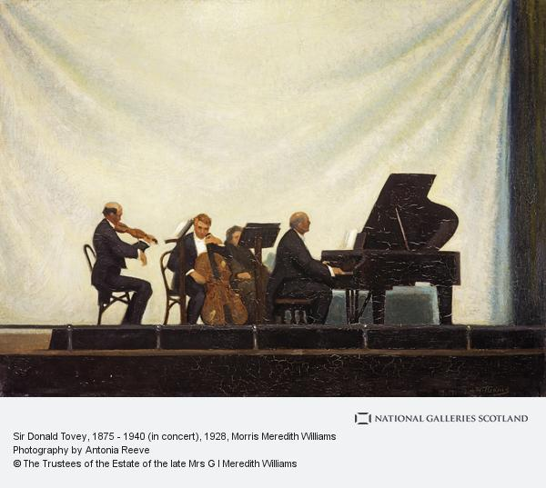 Morris Meredith Williams, Sir Donald Tovey, 1875 - 1940 (in concert)