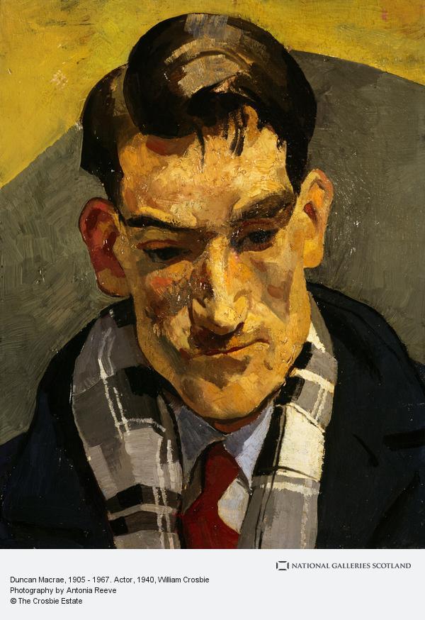 William Crosbie, Duncan Macrae, 1905 - 1967. Actor