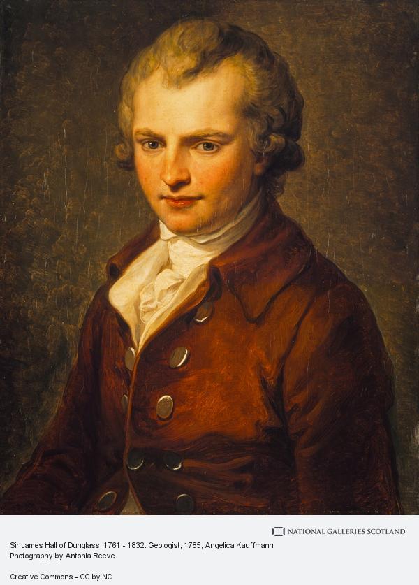 Angelica Kauffmann, Sir James Hall of Dunglass, 1761 - 1832. Geologist (1785)