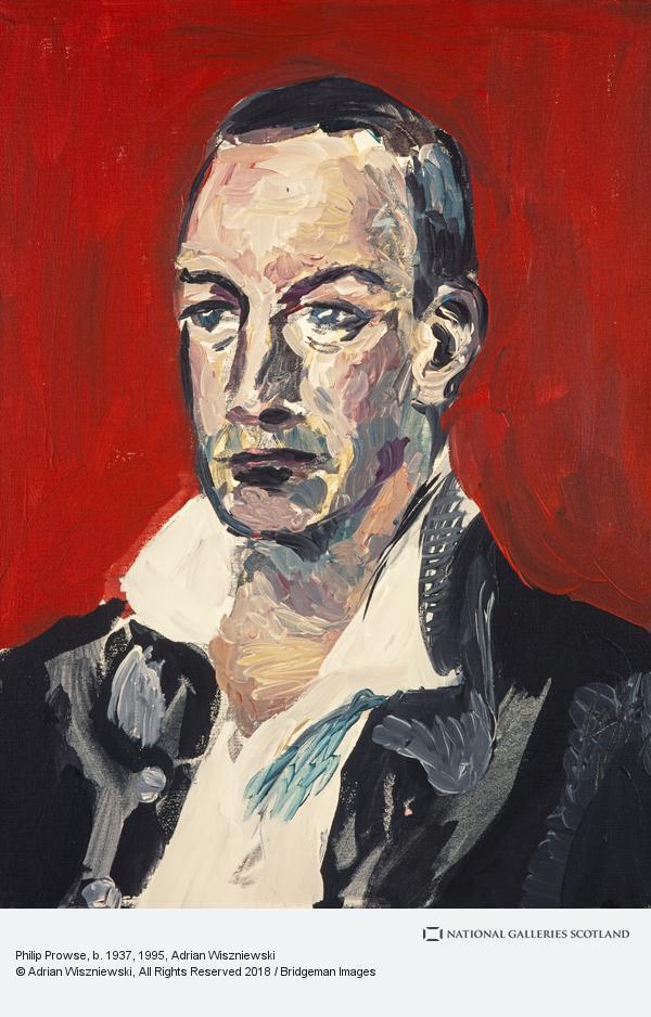 Adrian Wiszniewski, Philip Prowse, b. 1937 (1995)