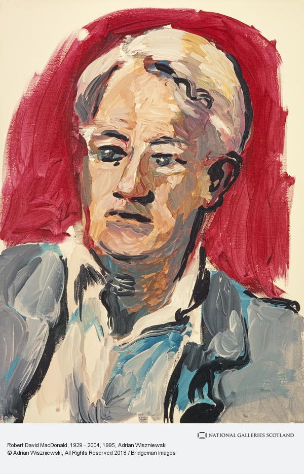 Adrian Wiszniewski, Robert David MacDonald, 1929 - 2004 (1995)