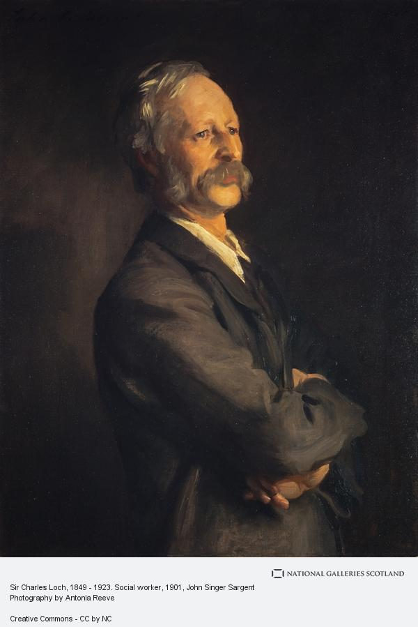John Singer Sargent, Sir Charles Loch, 1849 - 1923. Social worker