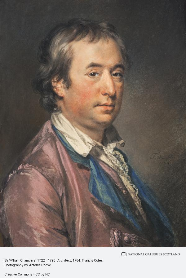 Francis Cotes, Sir William Chambers, 1722 - 1796. Architect
