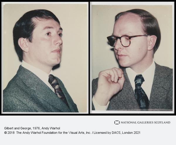 Andy Warhol, Gilbert and George (1976)