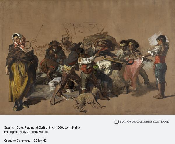 John Phillip, Spanish Boys Playing at Bullfighting