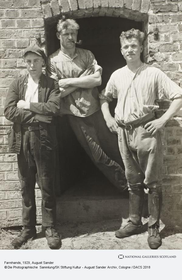 August Sander, Farmhands, 1929 (1929)