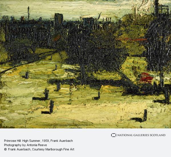 Frank Auerbach, Primrose Hill: High Summer (1959)