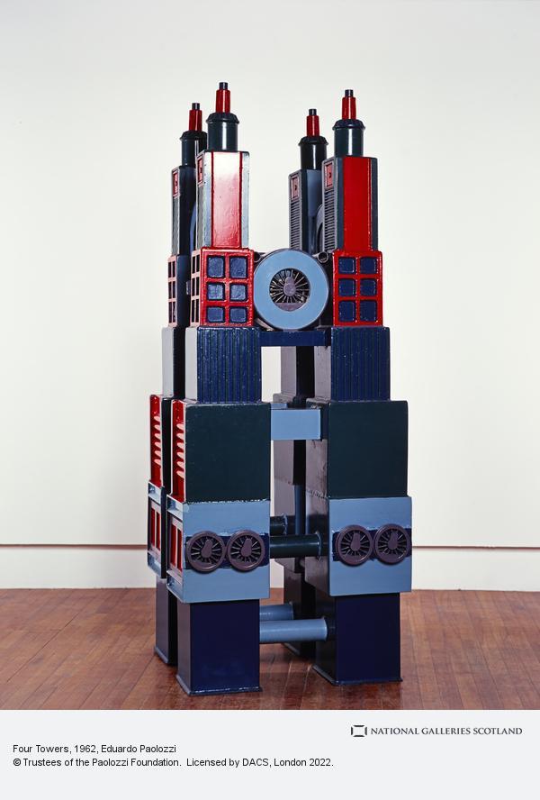 Eduardo Paolozzi, Four Towers