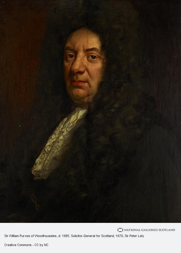Sir Peter Lely, Sir William Purves of Woodhouselee, d. 1685. Solicitor-General for Scotland