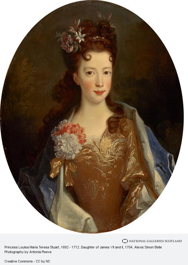 Alexis Simon Belle, Princess Louisa Maria Teresa Stuart, 1692 - 1712. Daughter of James VII and II