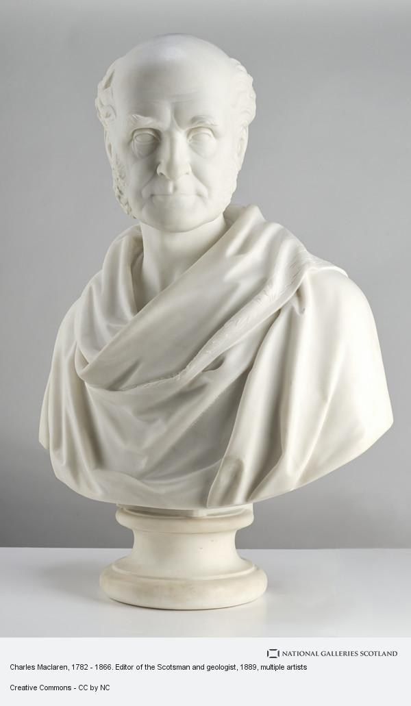 John Hutchison, Charles Maclaren, 1782 - 1866. Editor of the Scotsman and geologist