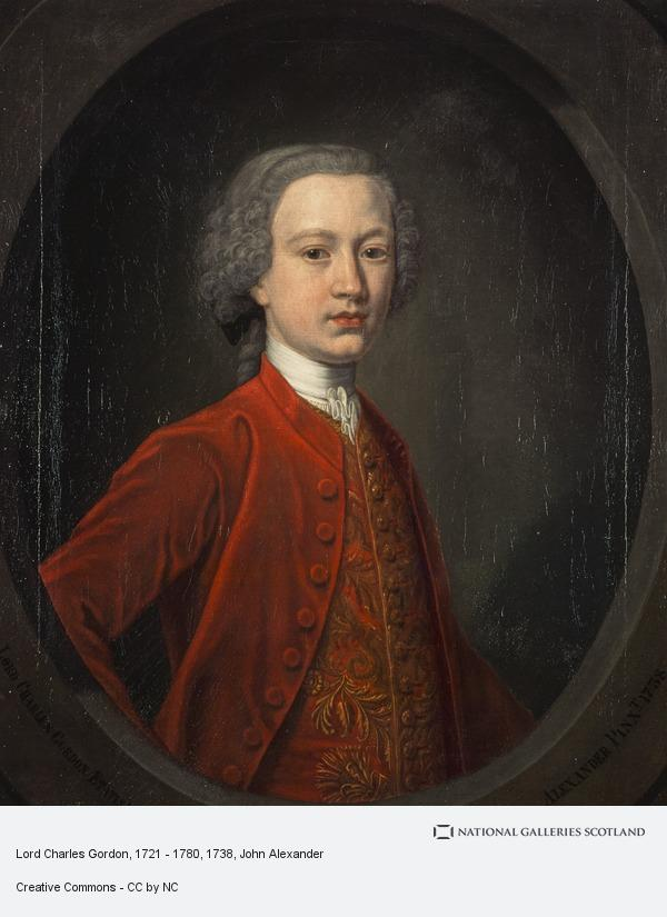 John Alexander, Lord Charles Gordon, 1721 - 1780