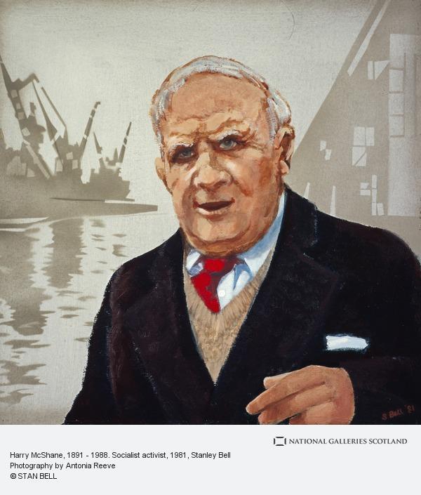 Stanley Bell, Harry McShane, 1891 - 1988. Socialist activist (1981)