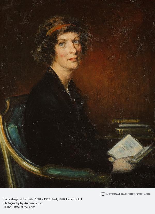 Henry Lintott, Lady Margaret Sackville, 1881 - 1963. Poet