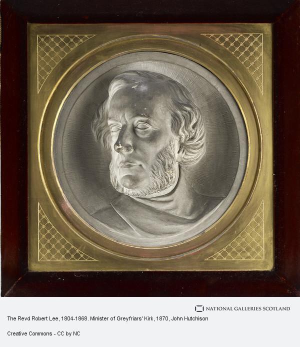 John Hutchison, The Revd Robert Lee, 1804-1868. Minister of Greyfriars' Kirk