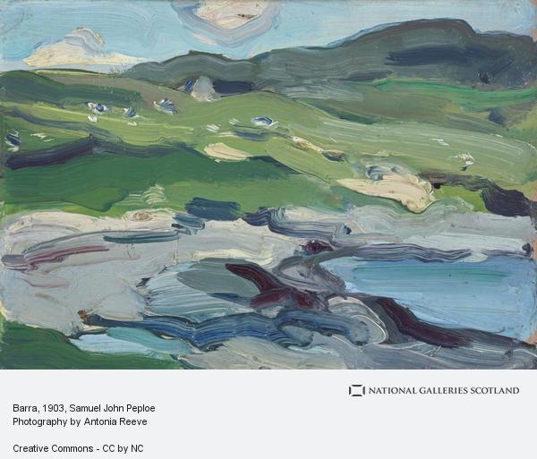 Samuel John Peploe, Barra (1903)