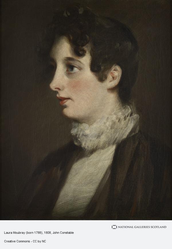 John Constable, Laura Moubray, née Hobson (born 1788)