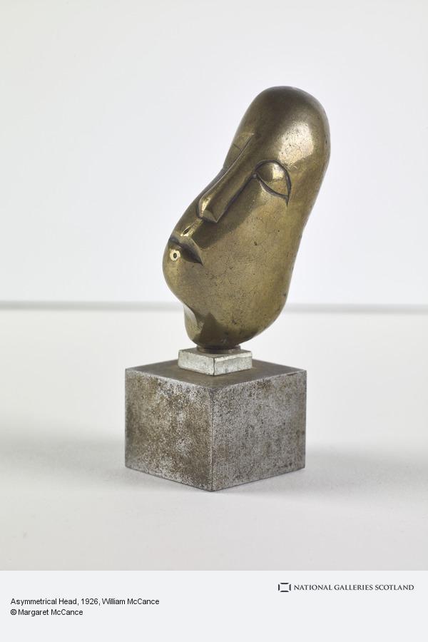 William McCance, Asymmetrical Head