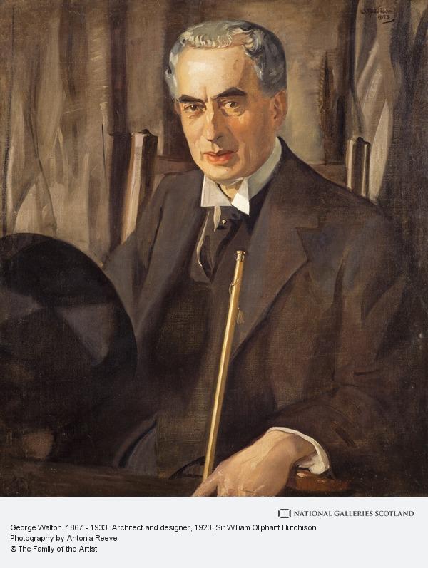 Sir William Oliphant Hutchison, George Walton, 1867 - 1933. Architect and designer