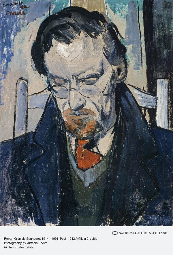 William Crosbie, Robert Crombie Saunders, 1914 - 1991. Poet (1942)