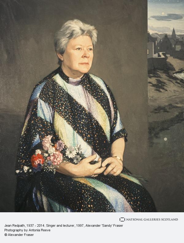 Alexander 'Sandy' Fraser, Jean Redpath, 1937 - 2014. Singer and lecturer (1997)