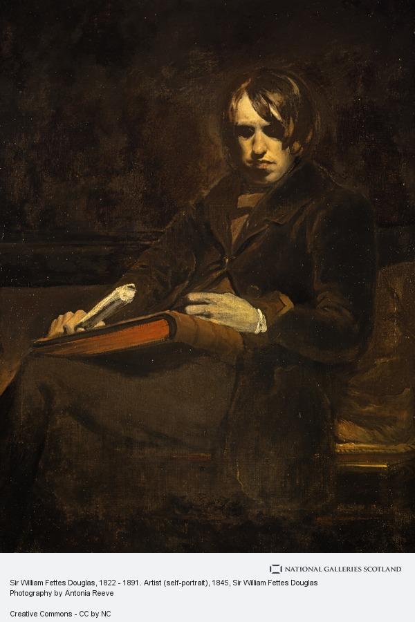 Sir William Fettes Douglas, Sir William Fettes Douglas, 1822 - 1891. Artist (self-portrait) (About 1845)