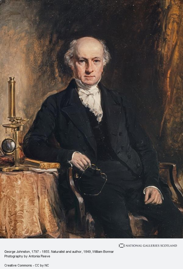 William Bonnar, George Johnston, 1797 - 1855. Naturalist and author (Dated 1849)