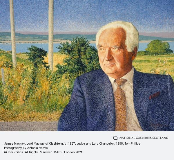 Tom Phillips, James Mackay, Lord Mackay of Clashfern, b. 1927. Judge and Lord Chancellor (1998)