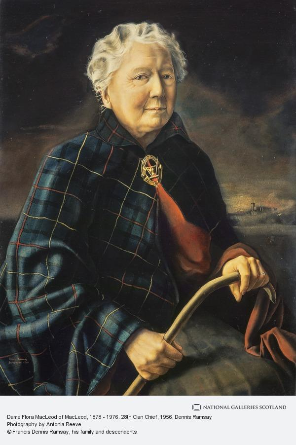 Dennis Ramsay, Dame Flora MacLeod of MacLeod, 1878 - 1976. 28th Clan Chief
