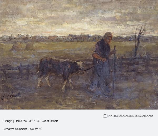 Josef Israëls, Bringing Home the Calf