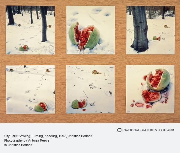 Christine Borland, City Park: Strolling, Turning, Kneeling