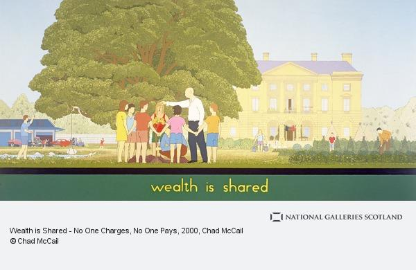 Chad McCail, Wealth is Shared - No One Charges, No One Pays