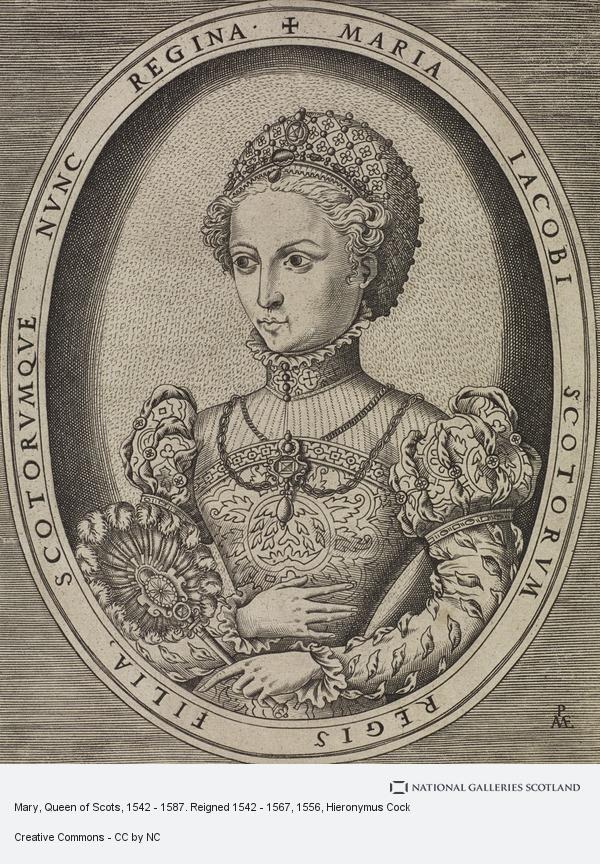 Hieronymus Cock, Mary, Queen of Scots, 1542 - 1587. Reigned 1542 - 1567