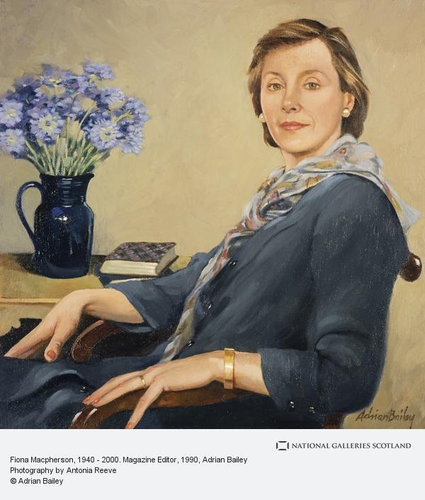 Adrian Bailey, Fiona Macpherson, 1940 - 2000. Magazine Editor (1990 - 1999)