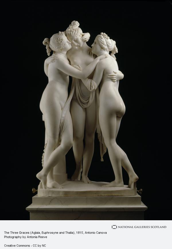 Antonio Canova, The Three Graces (Aglaia, Euphrosyne and Thalia) (1815 - 1817)
