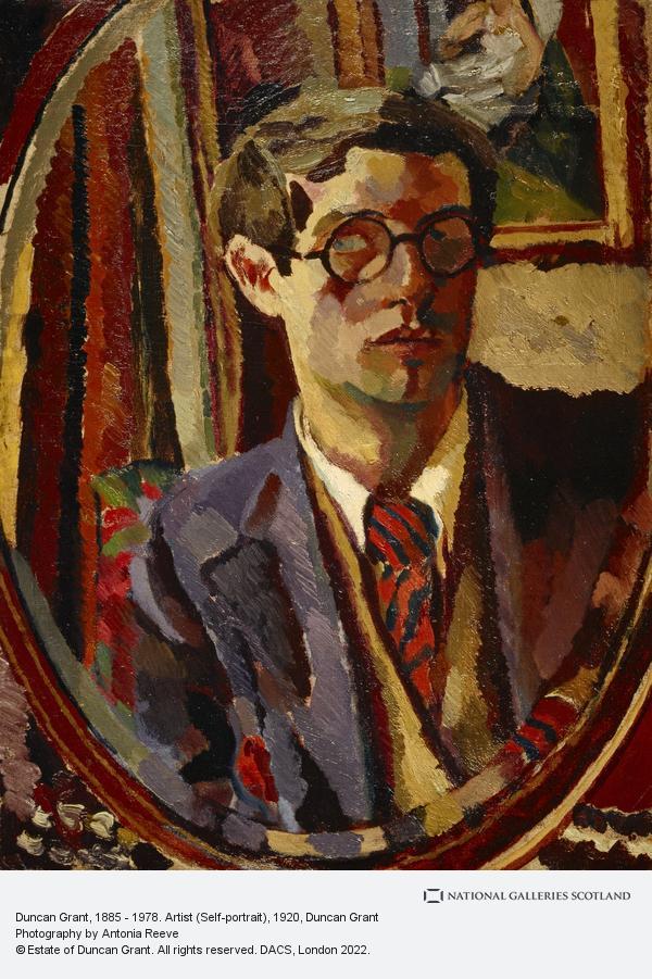 Duncan Grant, Duncan Grant, 1885 - 1978. Artist (Self-portrait)