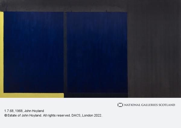 John Hoyland, 1.7.68