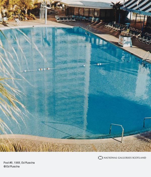 Ed Ruscha, Pool #8 (1968 / 1997)