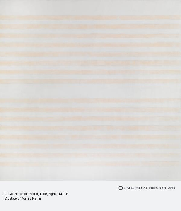 Agnes Martin, I Love the Whole World (1999)