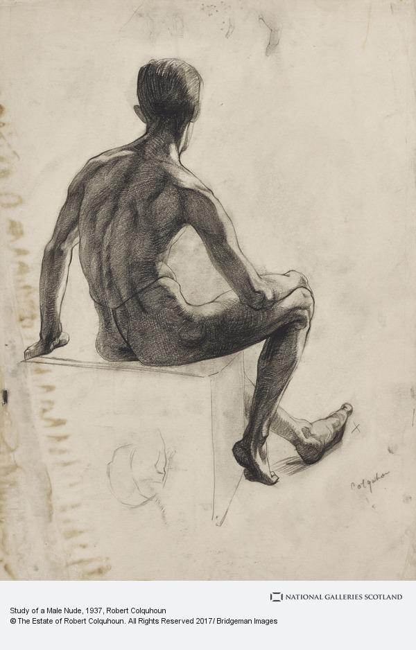 Robert Colquhoun, Study of a Male Nude