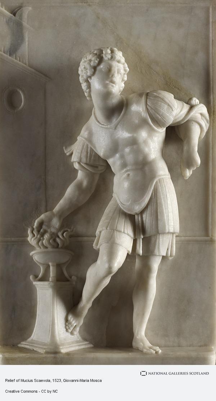Giovanni-Maria Mosca, Relief of Mucius Scaevola