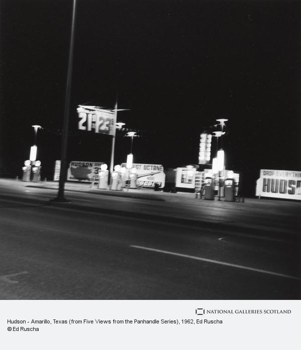 Ed Ruscha, Hudson - Amarillo, Texas (from Five Views from the Panhandle Series)