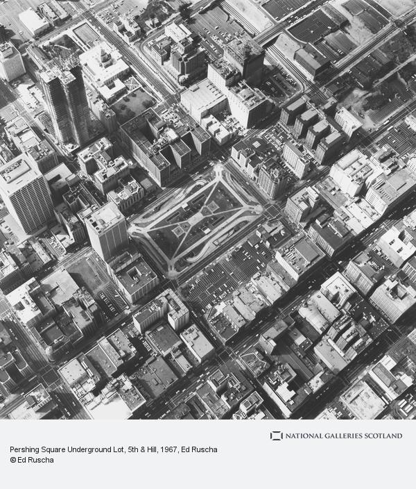Ed Ruscha, Pershing Square Underground Lot, 5th & Hill (1967 / 1999)