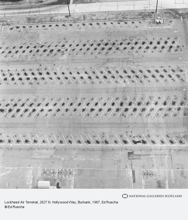 Ed Ruscha, Lockheed Air Terminal, 2627 N. Hollywood Way, Burbank (1967 / 1999)