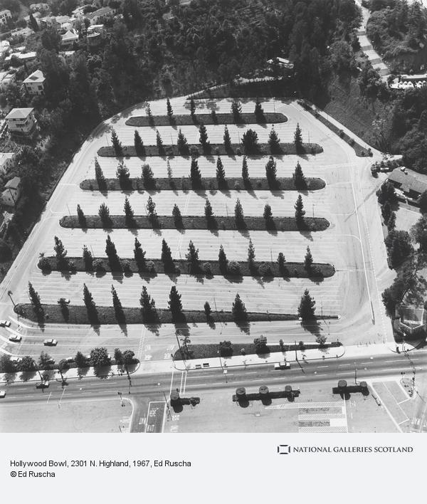 Ed Ruscha, Hollywood Bowl, 2301 N. Highland (1967 / 1999)