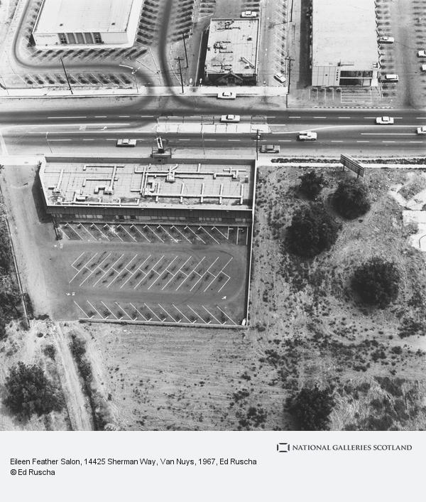 Ed Ruscha, Eileen Feather Salon, 14425 Sherman Way, Van Nuys (1967 / 1999)